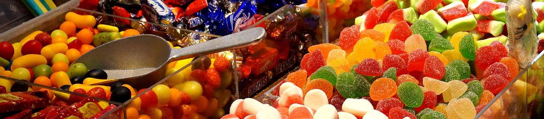 Süßwaren-Schaufeln