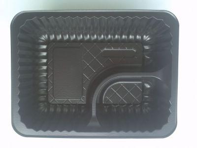 Nacho Schalen schwarz Standard klein 500Stück 2tlg.