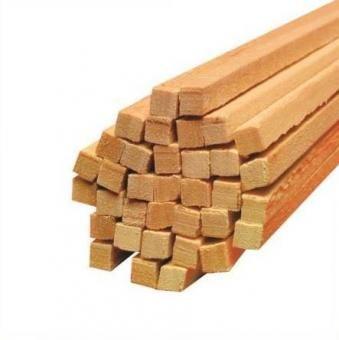 Holz-Vierkantstäbe für Zuckerwatte 30 cm 5000 St.